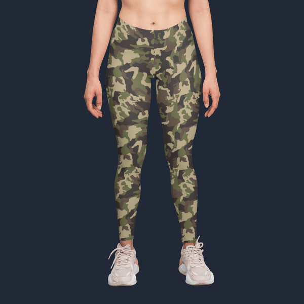 Nature Camouflage Yoga Pants