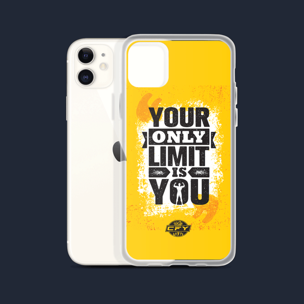 Your Only Limit is You iPhone Cases