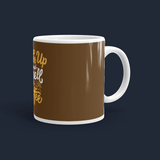 Wake Up and Smell the Coffee Personalised Coffee Mug