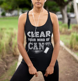 Clear your mind of Can't Lace Tank Top