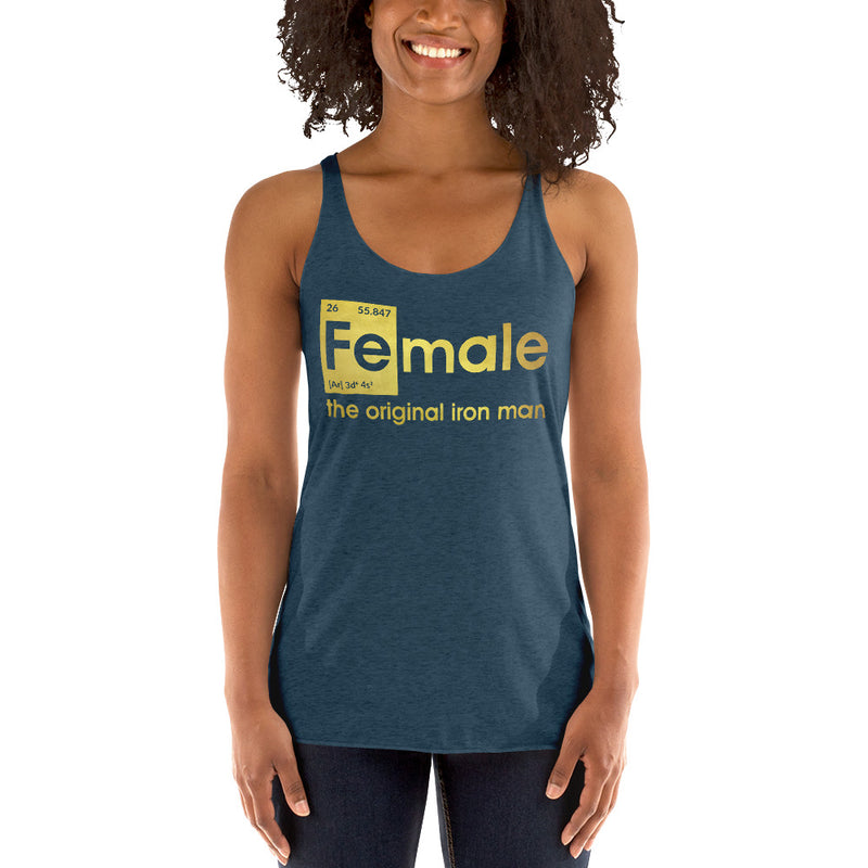 Fe-male the original Iron Man Tanktop Crop