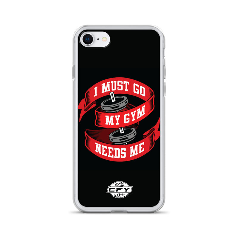 I Must Go, My Gym Needs Me iPhone Case 8