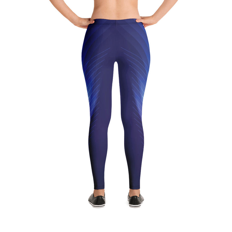 Stylish Blue Yoga Pants For Girls