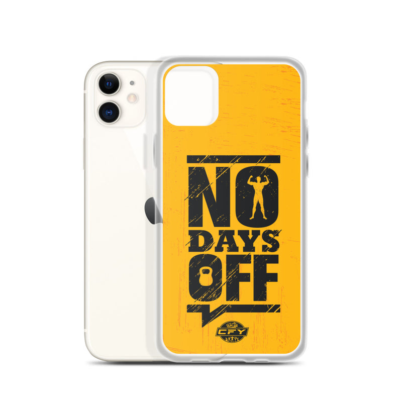 No Days Off iPhone Cases