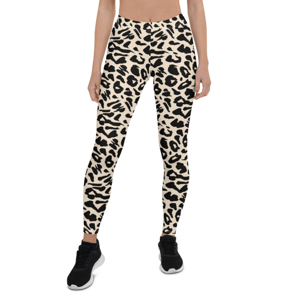 Leopard Texture Leggings