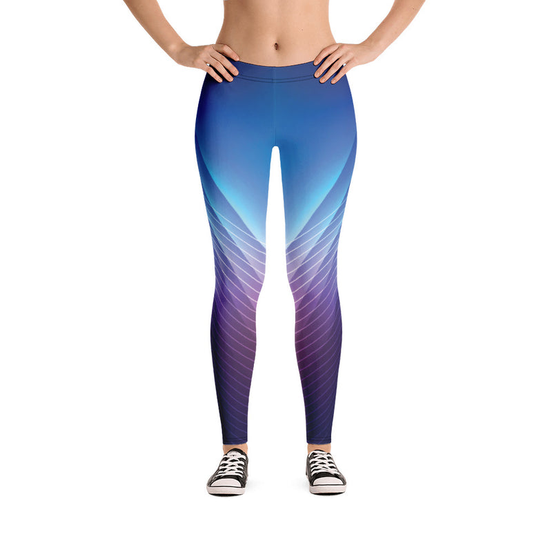 Stylish Blue Yoga Pants Women