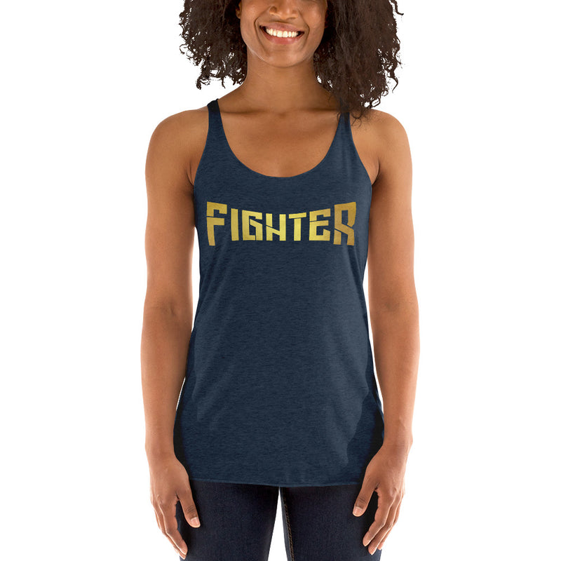 Fighter Lace Tank Top