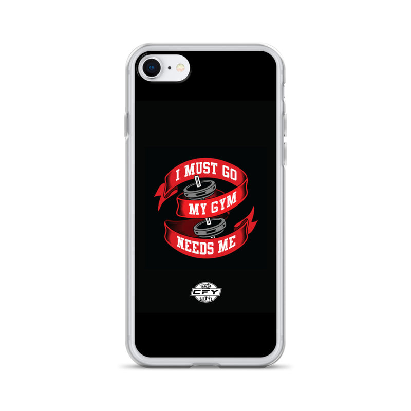 I Must Go, My Gym Needs Me iPhone Case Best