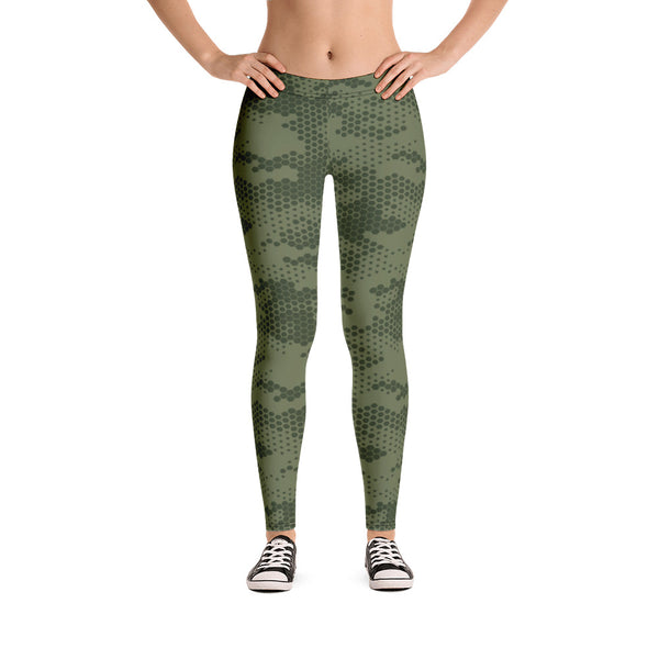 Military Camouflage Hot Yoga Pants
