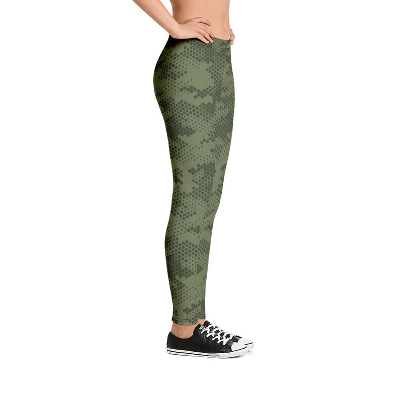 Military Camouflage yoga apparel