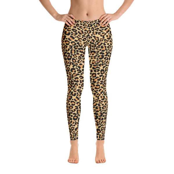 Stylish Leopard Texture Hot Yoga Pants
