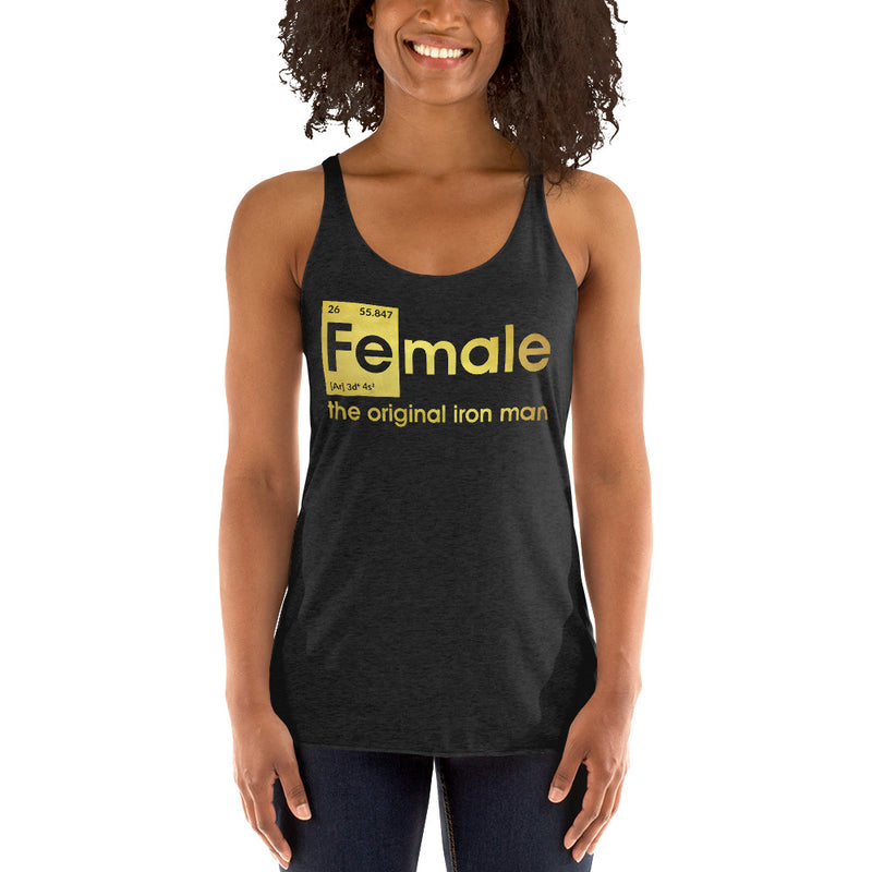 Fe-male the original Iron Man Tanktop Women