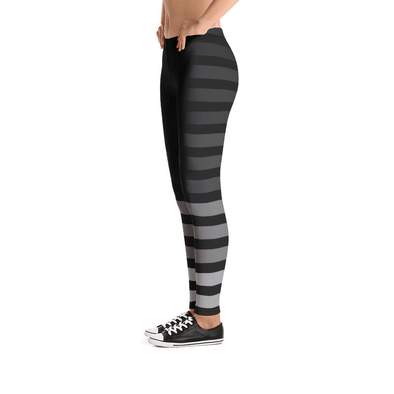 Gradient Stripe Yoga Pants For Girls