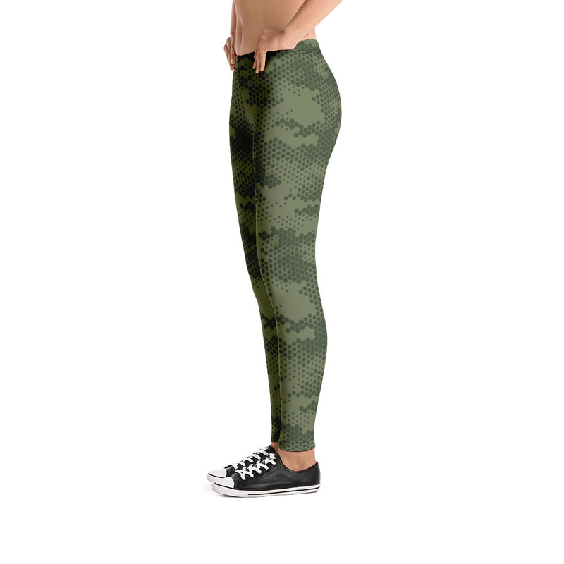Military Camouflage Yoga Pants Women