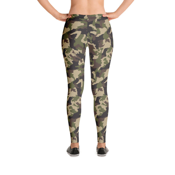 Nature Camouflage Hot Yoga Pants