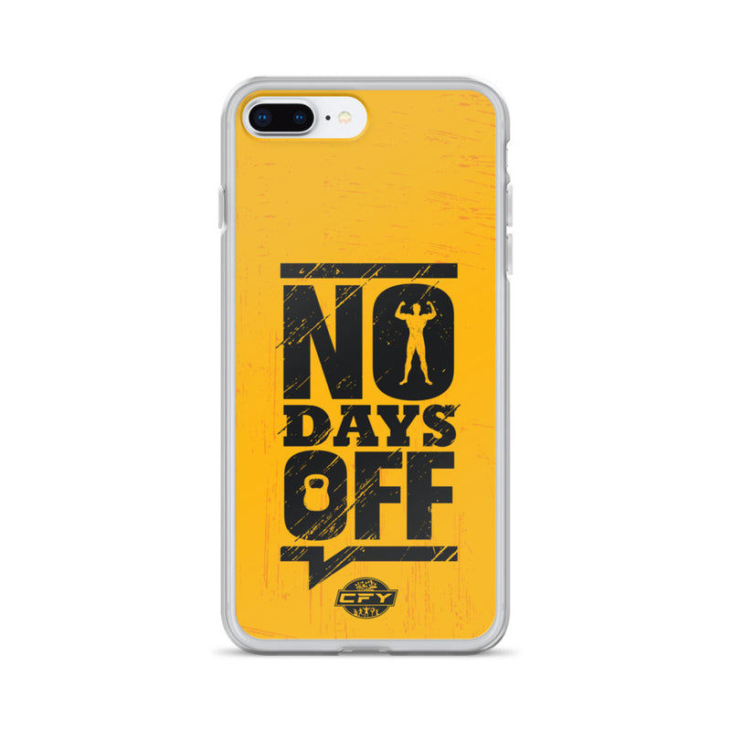No Days Off iPhone Case Custom