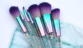 Cactus Flower Makeup Brush Set