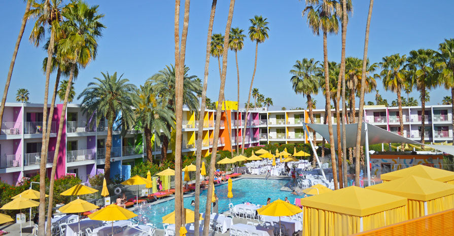 Saguaro Hotel Palm Springs | @beautiepaint