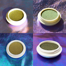 Load image into Gallery viewer, Saturn Multichrome Eyeshadow 4 ways - Wandering Star Collection