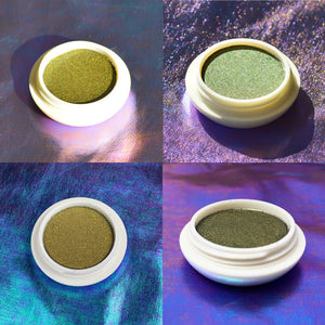 Saturn Multichrome Eyeshadow 4 ways - Wandering Star Collection
