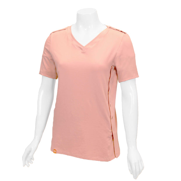 Mellow Rose Easy-On T-Shirt with Short Sleeves