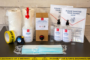 Bean & Gone Business Restart Essential Protection Kit. PPE Supplies