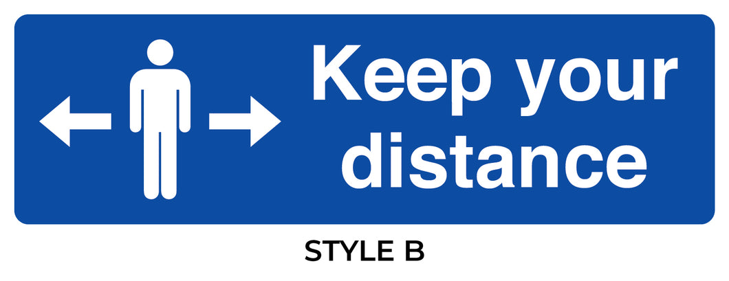 Keep Your Distance Stickers*