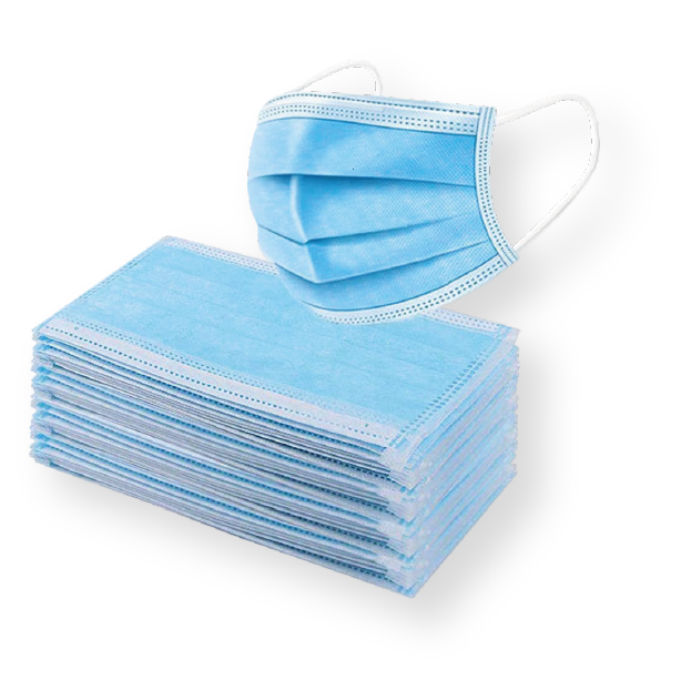 3 Ply Medical Blue Face Masks. PPE Supplies
