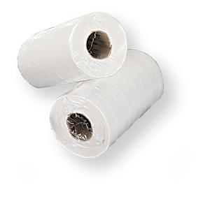 40m Perorated 2ply Paper Hygiene Wiper Roll. PPE Supplies