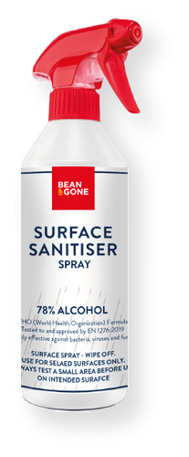 Bean & Gone Refillable Spray Bottle for Surface Sanitising. PPE Supplies