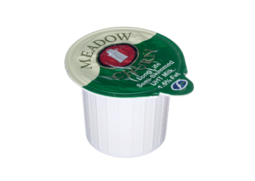 Meadowchurn Semi Skimmed Milk Pots 13.6ml