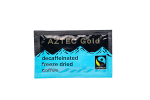Fairtrade Aztec Gold Decaffeinated Coffee Sachets 1.4g