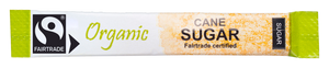 Fairtrade Organic Golden Sugar Stick 3g