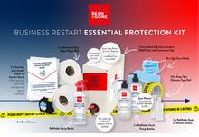 Load image into Gallery viewer, Bean & Gone Business Restart Essential Protection Kit. PPE Supplies