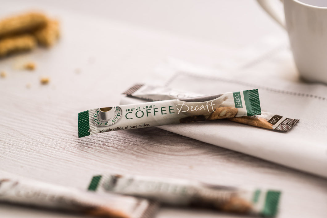 Café Etc Decaffeinated Coffee Sticks 1.5g