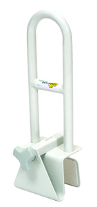 B3200 Adjustable Tub Safety Bar - White