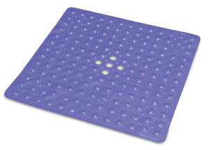 B3417B Shower Mat - Transparent Dark Blue