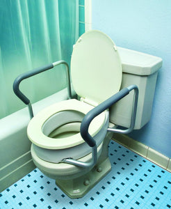 B5082 Toilet Seat Riser with Arms - Standard