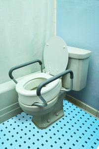 B5083 Toilet Seat Riser with Arms - Elongated