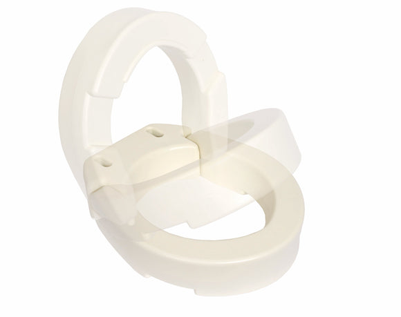 B5085 Hinged Toilet Seat Riser - Elongated