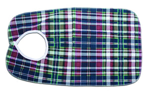 C3045B Deluxe Bib - Plaid 18in x 30in - Bulk
