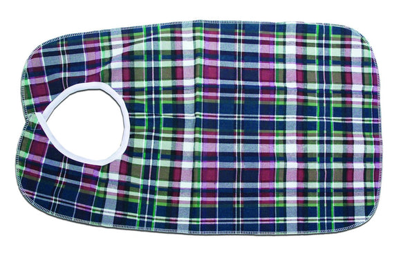 C3045 Deluxe Bib - Plaid 18in x 30in