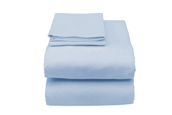 C3057L Contour Hospital Bed Sheet in Blue