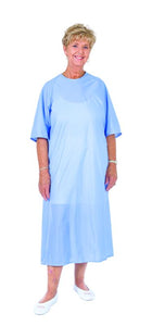 C3072  Soft and Cozy Gown - Half Sleeve - Blue