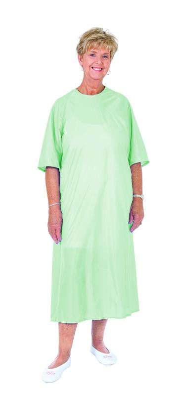 C3075  Soft and Cozy Gown - Half Sleeve - Mint