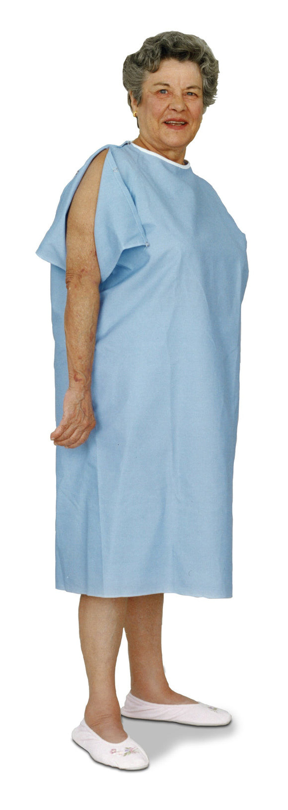 C3300 IV Gown - Blue
