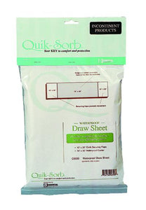 C6500 Vinyl Waterproof Draw Sheet - 106in x 36in