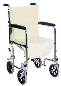 D3005 Sheepette Synth Lambskin Wheelchair Seat and Back
