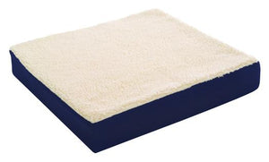 D4100 Gel Cushion with Fleece Cover  18in x 16in x 3in