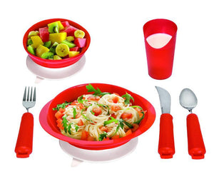 L5046 Power of Red Complete Dinner Set